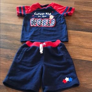 Fourth of July 18 Month Outfit